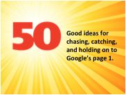 50 Good ideas for chasing, catching, and holding on to page 1.