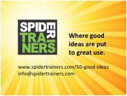 50 good ideas Spider Trainers