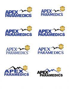 Apex Paramedics logo concepts image