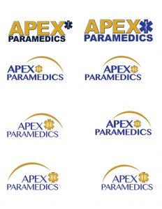Apex Paramedics logo concepts 2 image