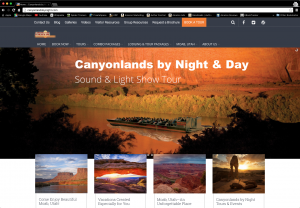 CanyonlandsbyNight.com website image