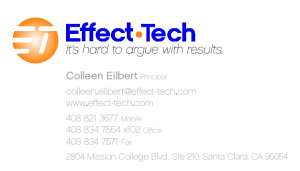 Effect-Tech business cards image
