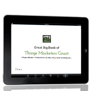 Great Big Book of Things Marketers Count slide deck image