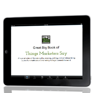 Great Big Book of Things Marketers Say slide deck image