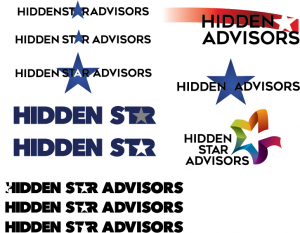 Hidden Star logo concepts image