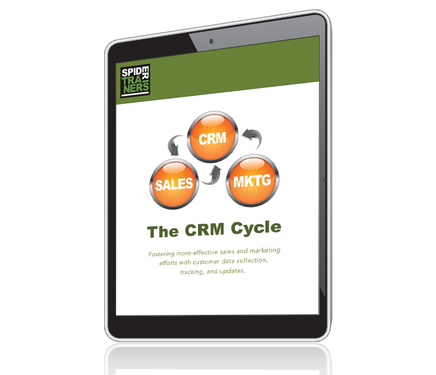 Spider Trainers' The CRM Cycle eBook cover