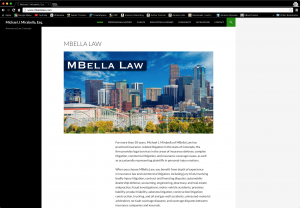MBellaLaw.com website image