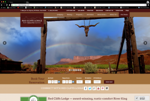 RedCliffsLodge.com website image