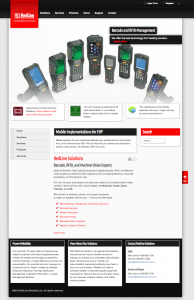 Redline Solutions website image